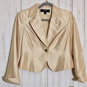 Signature Larry Levine Champagne Suit Jacket